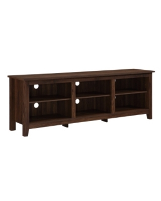 "Walker Edison 70"" Wood Media Tv Stand Storage Console"