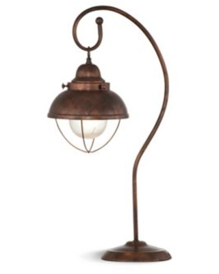 Bassett Mirror Company Alleghany Table Lamp in Weathered Copper