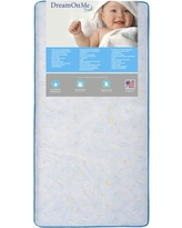 "Dream On Me Twinkle Star 6"" Crib and Toddler Mattress 152-117"