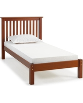 Barcelona Chestnut (Brown) Twin Bed