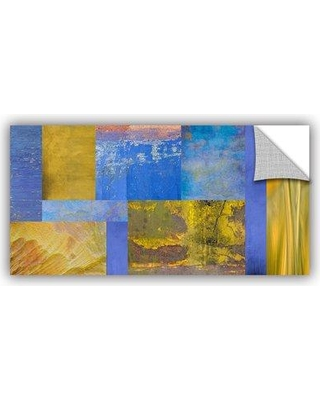 """ArtWall Collage' by Cora Niele Graphic Art Removable Wall Decal JJM8371 Size: 24"""" H x 48"""" W x 0.1"""" D"""