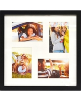"Thin Black Collage Frame - Holds Four 4""x6"" Photos - Room Essentials"