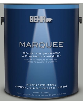 BEHR MARQUEE 1 gal. #PPU25-15 Flipper Satin Enamel Interior Paint and Primer in One