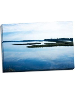 Highland Dunes 'Still Water 1' Photographic Print on Wrapped Canvas BI056115