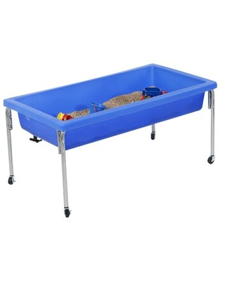 """Sensory Sand & Water Table Children's Factory Size: 18"""" H x 50"""" W x 26"""" D"""