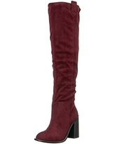Very Volatile Women's Nate Riding Boot, Wine, 6 B US