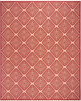Safavieh Linden Red/Cream (Red/Ivory) 9 ft. x 12 ft. Area Rug