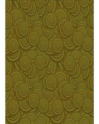 East Urban Home Wool Green Area Rug X113669433 Rug Size: Rectangle 2' x 4'