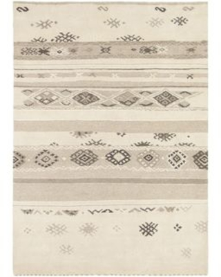 """Hand Knotted Mariposa New Zealand Wool Area Rug - 5'7"""" x 7'10"""" (5'7"""" x 7'10"""" - Beige)"""