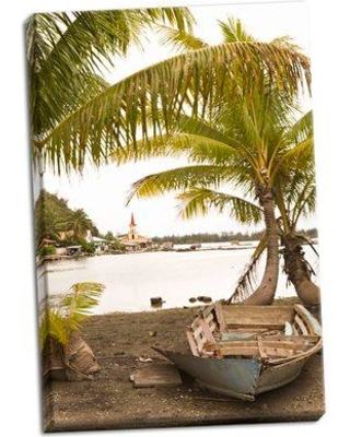 Bay Isle Home 'Tropical Oasis III' Photographic Print on Wrapped Canvas BF053313
