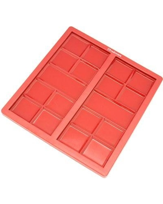 Freshware 2 Cavity Silicone Mold Pan CB-810RD