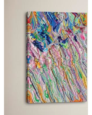 """Brayden Studio Untitled 43 by Mark Lovejoy Painting Print on Wrapped Canvas BRSD3140 Size: 40"""" H x 26"""" W x 0.75"""" D"""