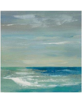 "Highland Dunes 'Early Morning Waves I' Acrylic Painting Print on Wrapped Canvas HGLN1260 Size: 24"" H x 24"" W x 2"" D"