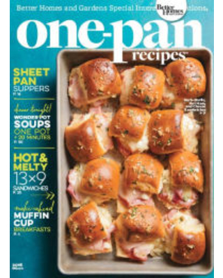 Better Homes and Gardens One-Pan Recipes 2016 Meredith Corporation Author