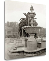 """Tangletown Fine Art 'Golden Gate Park - 5' Photographic Print on Wrapped Canvas ICABSF64-2020c Size: 25"""" H x 25"""" W"""