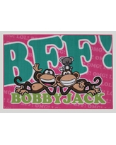 """Fun Rugs Bobby Jack BFF-Text Green/Pink Area Rug BJ-231929/BJ-233958 Rug Size: 3'3"""" x 4'10"""""""
