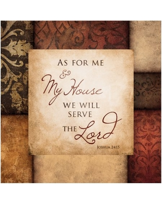 Thirstystone Drink Coasters, Serve the Lord, Set of 4