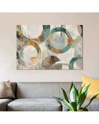 """East Urban Home 'Alecto' Graphic Art Print on Canvas ETRB4516 Size: 40"""" H x 60"""" W x 1.5"""" D"""
