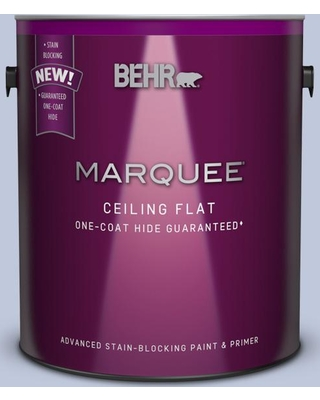 BEHR MARQUEE 1 gal. #MQ3-62 Tinted to Dancing Mist Flat Interior Ceiling Paint and Primer in One