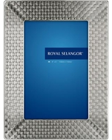 "Royal Selangor Mirage Wave Picture Frame 013007R / 013008R Picture Size: 4"" x 6"""