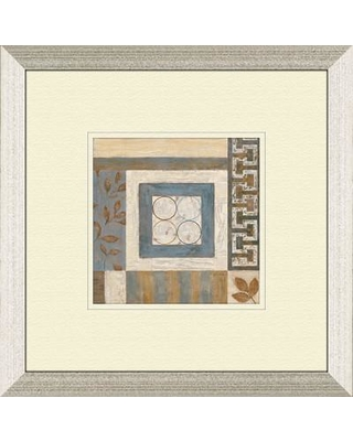 PTM Images Abstract Plan B Framed Painting Print 1-6564B