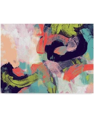 "Wrought Studio 'Vibrant Spring II' Acrylic Painting Print on Wrapped Canvas W001130467 Size: 14"" H x 19"" W x 2"" D"