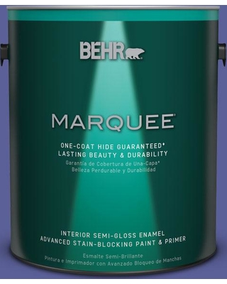BEHR MARQUEE 1 gal. #P550-6 Wizards Potion One-Coat Hide Semi-Gloss Enamel Interior Paint and Primer in One