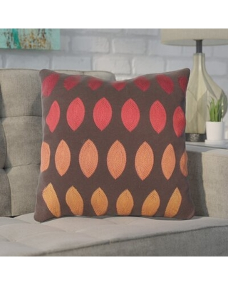 New Deal On Argus Linen Throw Pillow Wrought Studio Color Red