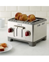 Wolf Gourmet 4-Slice Toaster, Red
