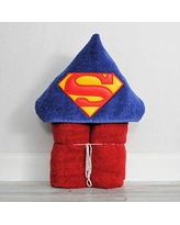 Steel Super Hero Logo Hooded Bath Towel for Baby Child and Teens