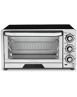 Cuisinart Toaster Oven Broiler TOB-40N, One Size , Silver