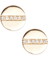 Women's Ef Collection Screw Diamond Stud Earrings
