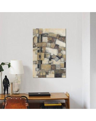 "East Urban Home 'Lost Canyon I' Print on Wrapped Canvas ERNI6493 Size: 40"" H x 26"" W x 0.75"" D"
