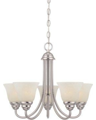 Deals On Charlton Home Eichelberger 5 Light Shaded Classic Traditional Chandelier Finish Brushed Nickel Metal In Bronze Oil Rubbed Bronze Nickel Wayfair
