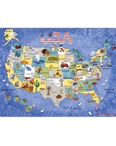 Magic Slice USA Map Play Placemat MPT002