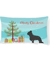 The Holiday Aisle Briard Indoor/Outdoor Lumbar Pillow THLA4003