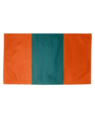 Deals On East Urban Home Miami Throwback Footballarea Rug Backing Yes Polyester In Orange Size Rectangle 4 X 6 Wayfair