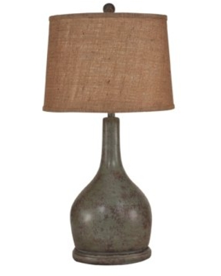 """Yarborough Oval Pot with Long Neck 31"""" Table Lamp Gracie Oaks"""
