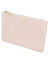 Cathy's Concepts Personalized Embossed Polyurethane Clutch - A