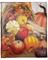 Deals For Marcelino Cornucopia With Pumpkins And Fruit 19 Placemat The Holiday Aisle