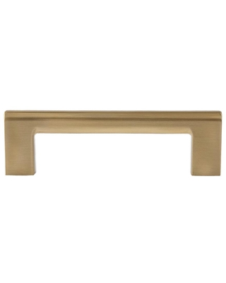 Sumner Street Home Hardware Vail 4 in. Satin Brass Drawer Pull (10-Pack)