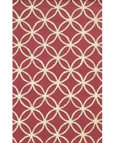 Meridian Rugmakers Fleetwood Hand-Tufted Pink Area Rug MRDN2205 Rug Size: Rectangle 9' x 12'