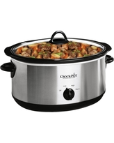 Crock-Pot 7 Qt. Manual Slow Cooker - Silver SCV700-SS, Stainless