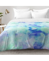 East Urban Home Water Clouds Comforter Set EAHU7601 Size: Full/Queen