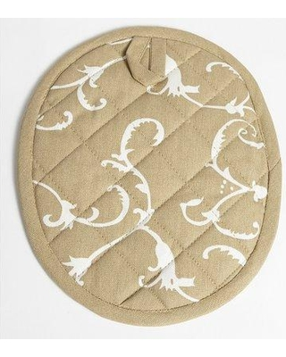 Flato Home Products Damask Pot Holder 1400000036 Color: Taupe