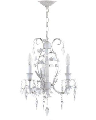 House of Hampton Dexter 3 - Light Candle Style Chandelier with Crystal Accents IPIO8910