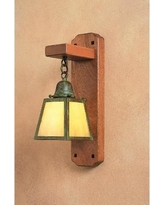 Arroyo Craftsman A-Line 5 Inch Wall Sconce - AWS-1E-OF-RB