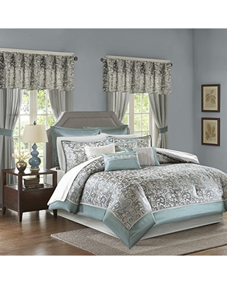 Great Deal On Madison Park Essentials Brystol Cal King Size Bed