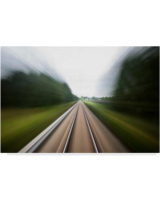 """Trademark Fine Art 'Next Stop' Photographic Print on Wrapped Canvas 1X05286-CGG Size: 12"""" H x 19"""" W x 2"""" D"""