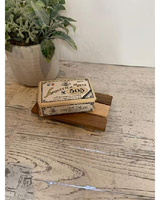 Reclaimed Wood Soap Dish, Soap Holder, Soap Storage, Slotted Soap Dish.